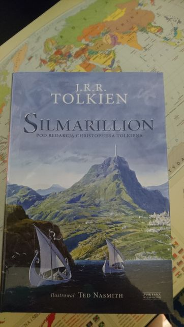 Książka nowa Tolkien Silmarillion