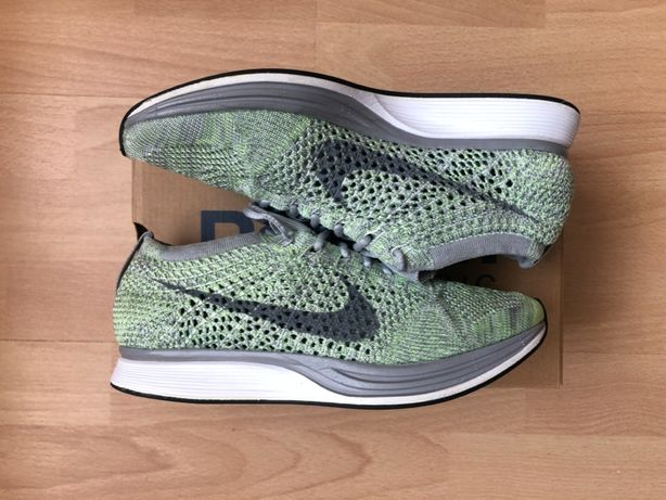Nike Flyknit Racer – PISTACHIO – US5 / EUR 37.5 / 23.5 CM