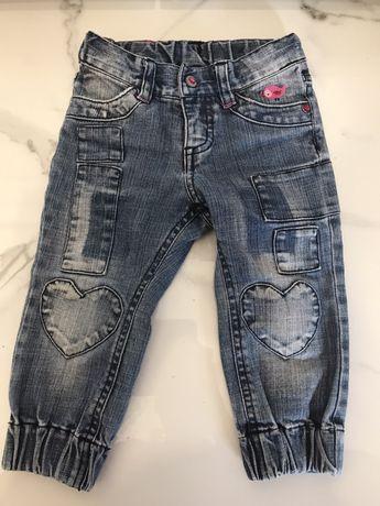 Detroit jeansy spodnie 86 cm