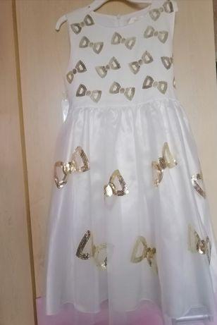 Красивое и нарядное платье на де для утренника, выпускного и торжества