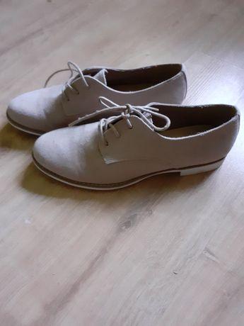 Eleganckie damskie wiosenne buty jak nowe nr 38