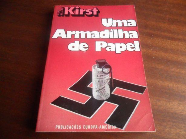"""""""Uma Armadilha de Papel"""" de Hans Hellmut Kirst"""