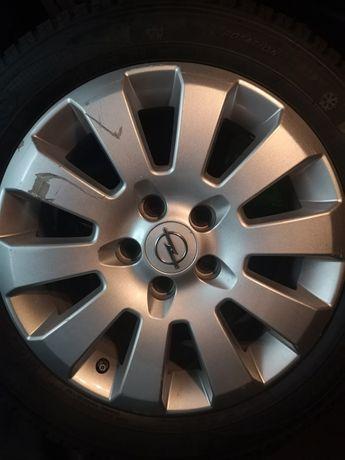 Alufelga felga Opel GM 6,5Jx16h2 et41  + opona zimowa kumho izenkw 23