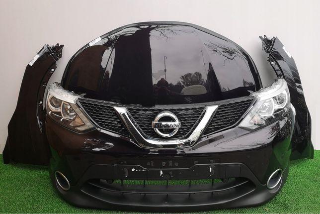 Nissan Qashqai Бампер двери капот крыло фара радиатор зеркало