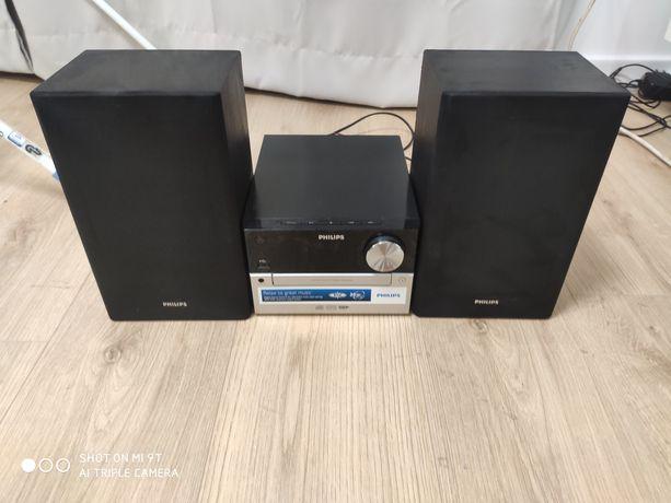 Mini wieża STEREO MP3 USB AUX Philips