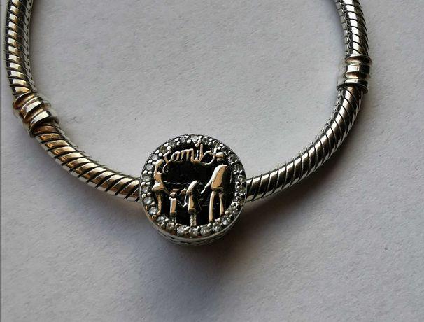 Charms do Pandora family rodzina srebro 925