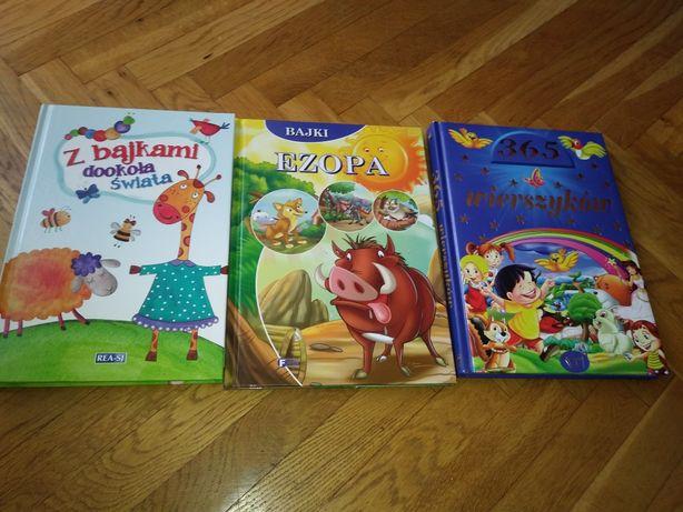 Bajki Ezopa Z bajkami dookoła świata wierszyki dla dzieci