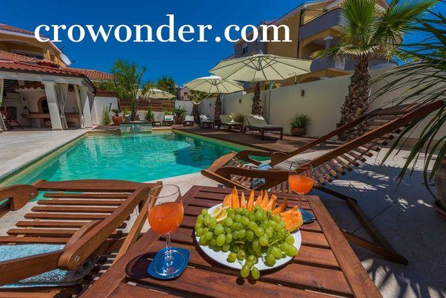 CroWonder, Chorwacja dom z basenem, apartamenty Zadar, blisko plaży!