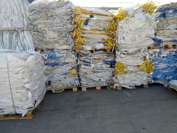 Worki Big Bag na Zboże 500kg 1000kg Idealnie Czyste Wysyłka Cały Kraj!