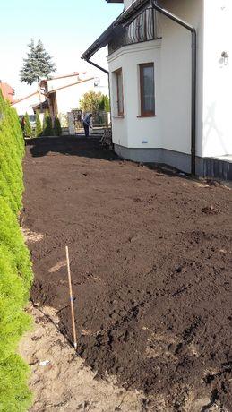 Ziemia ogrodowa,czarnoziem,siana, pod warzywa, podniesienie terenu,