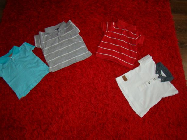 koszulki polo i spodenki lato chłopak