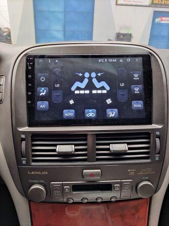 Android магнитола Lexus LS 430