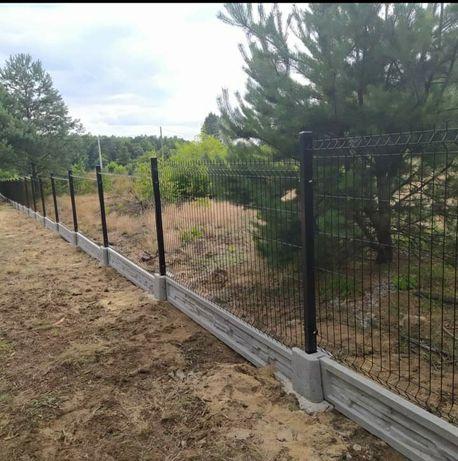 Panele ogrodzeniowe ogrodzenie panelowe WSZYSTKIE WYMIARY I KOLOR