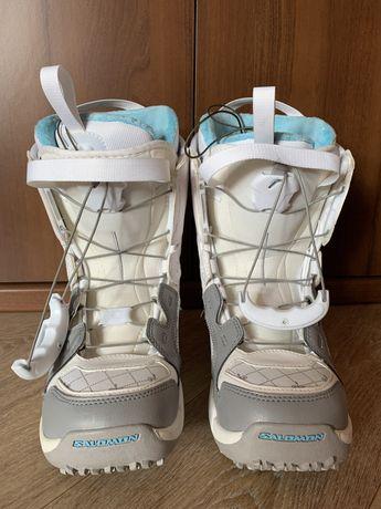 Сноубордические ботинки Salomon  р.37