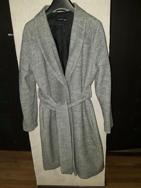 Płaszcz z domieszką wełny Reserved 36