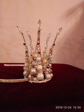 Корона принцессы.Корона для девочки.Новогодняя корона.