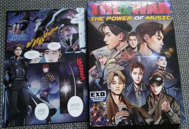 albumy kpop : exo / monsta x