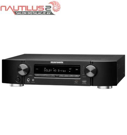 Marantz NR1510 + Polk Audio TL1600 czarny zestaw kino domowe