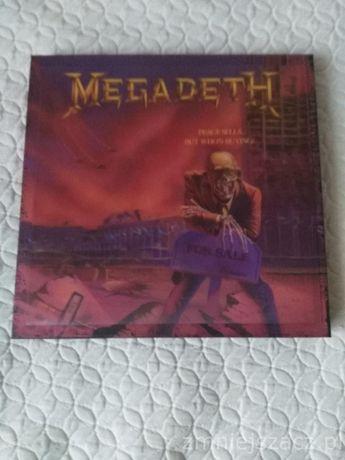 MEGADETH - peace sells ... but who's buing? BOX 3LP+5CD RARYTAS