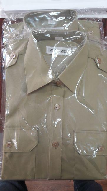 Nowa Koszula khaki sluzbowa Wółczanki