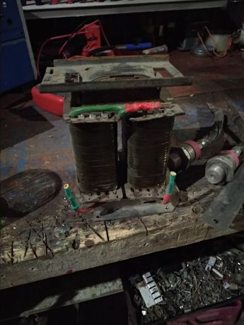 Трансформатор тс250 перемотаний для зарядного на ток 10ампер