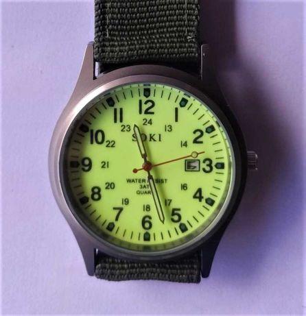Soki - relógio estilo militar