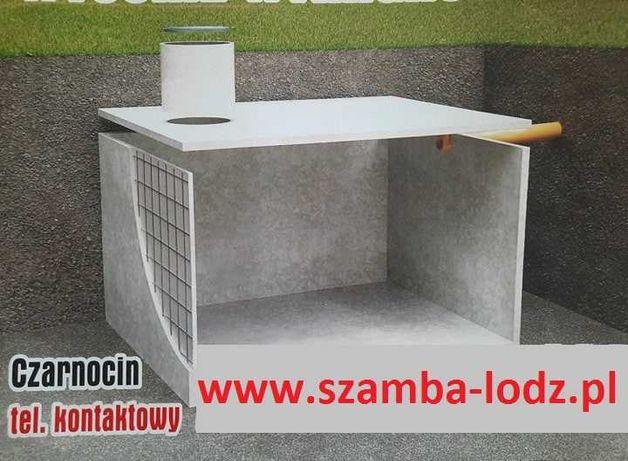 Szambo, szamba zbiorniki betonowe Łódź, Zgierz, Poddębice