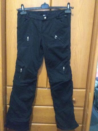 Теплые брюки с карманами, 10-11 лет, 134-140