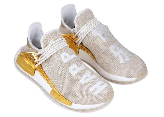 Adidas human race Pharrell Williams złote! rozm.40