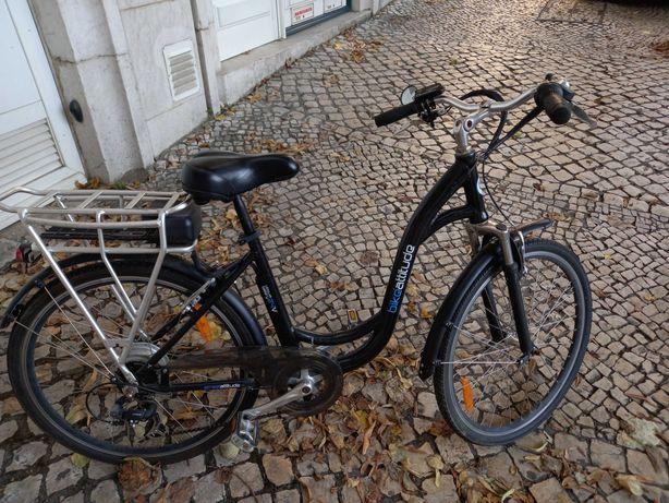 Bicicleta elétrica sem bateria