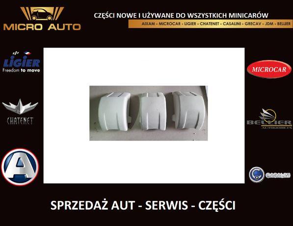 Zestaw 3x Ślizg kość wariatora Aixam Microcar Ligier Casalini Chatenet