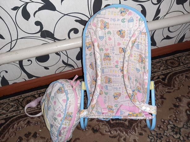 Шезлонг и сумочка с наполнением Шу шу
