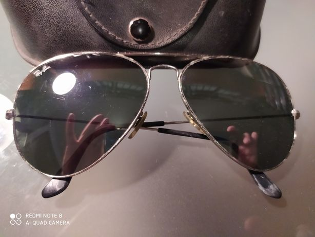 Óculos de sol Ray Ban, Originais