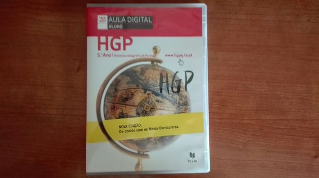 Dvd Aula digital HGP 5Ano 2015/2016
