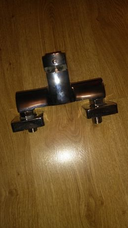 Bateria natryskowa Ferro srebrna nowa