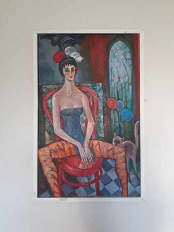 """Картина """"Любима жінка"""" Святослав Андрейчин"""