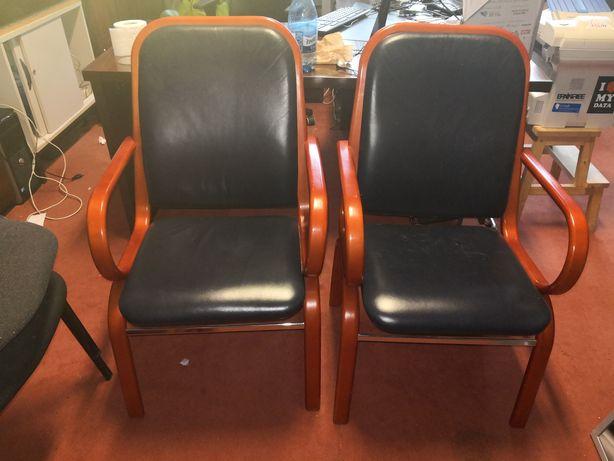 Fotele gabinetowe 2 sztuki. Do biura salonu. Trwalsze niż krzesła IKEA