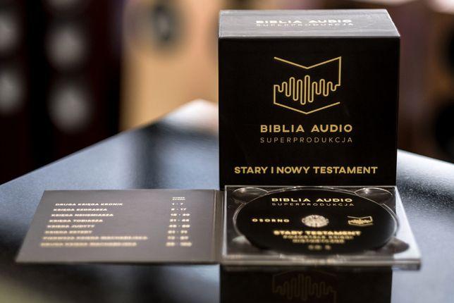 Stary i Nowy Testament - 12 płyt CD NOWE