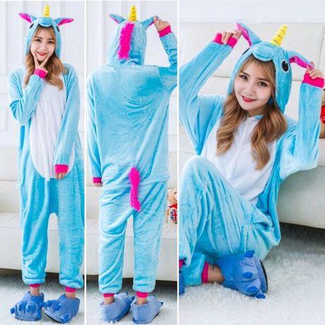 СУПЕРЦЕНА! Кигуруми голубой единорог пижама kigurumi цена актуальная