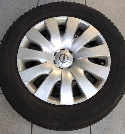 Koła R16 Astra J + opony Michelin 205/55 R16 + kołpaki