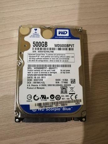 Hdd 2,5 500gb, жёсткий диск для ноутбука