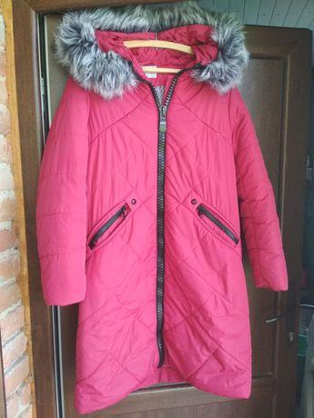 Зимова куртка, плащ 52 розмір