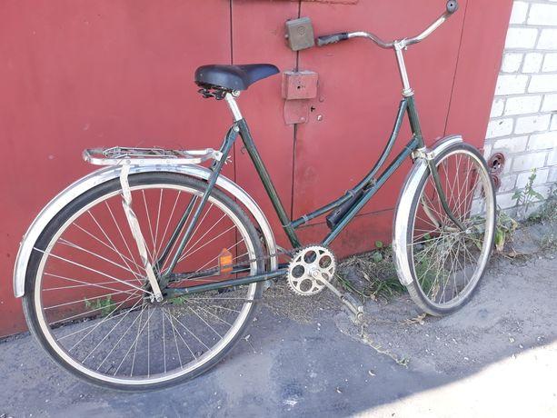 Велосипед Лебедь (Ардис) с женской рамой в идеальном состоянии