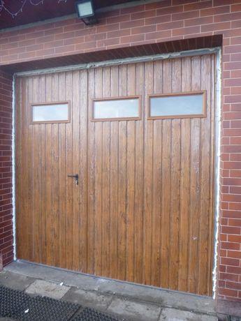 BRAMY garażowe Brama do garażu DRZWI wymiar PRODUCENT