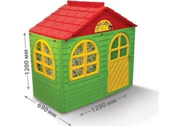 Акция! NEW! Детский игровой домик со шторками Doloni 129 х 69 х 120 см