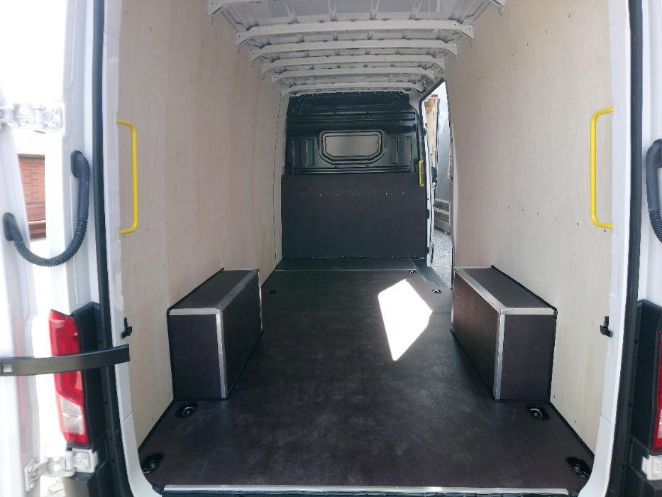 VW Crafter L4H3 Profesjonalne zabezpieczenie wnętrza paki busa Ełk - image 1