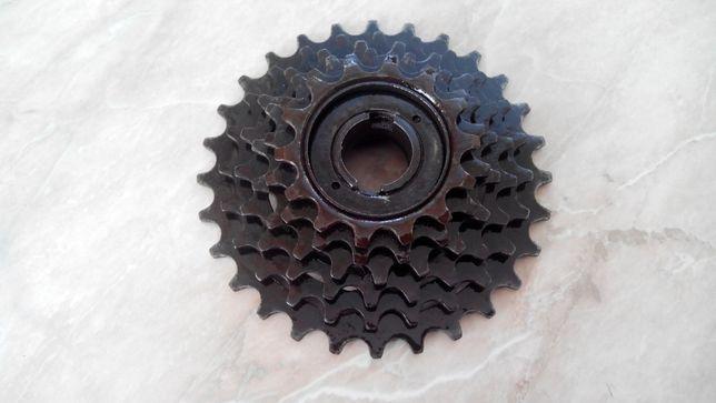 задняя звездочка с трещоткой для велосипеда на 6 скоростей