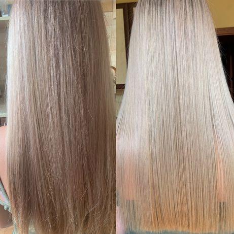 Кератиновое выпрямление, восстановление волос, биксипластия, ботокс