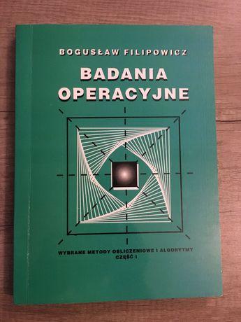 Badania operacyjne - Bogusław Filipowicz