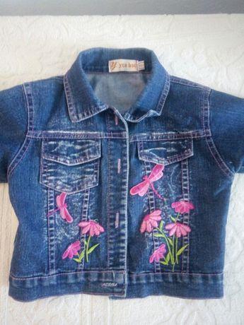 Куртка, пиджак джинсовая 2-3 года